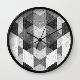 Reptile skin 1 Wall Clock