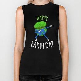 Happy Earth Day Biker Tank