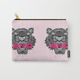 KENZO Tiger, pink letters Carry-All Pouch