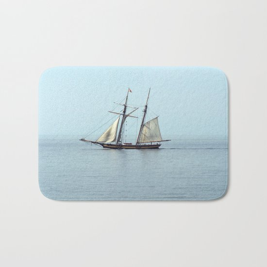Tall ship Sails by Bath Mat