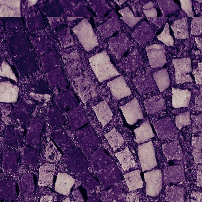 stone tile 4378 ultra violet Leggings