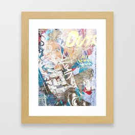 Lafayette and West 8th Framed Art Print