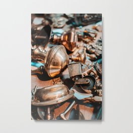 Salvage Hunting Metal Print