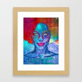 Dull Framed Art Print