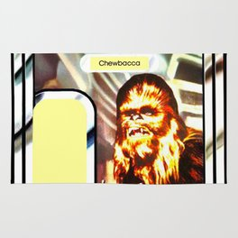 Chewbacca Vintage Action Figure Card Rug
