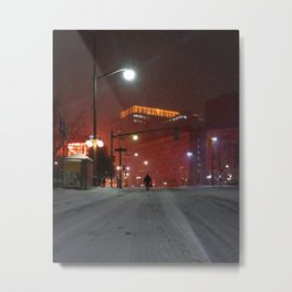 Nocturnal Solace Metal Print