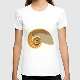Shell color T-shirt