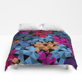 Colorful geometric Shapes Comforters