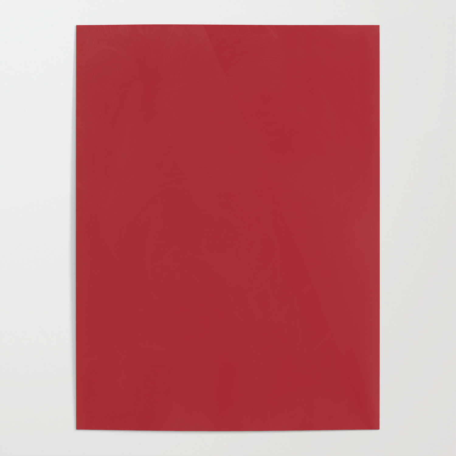 Sherwin Williams Trending Colors Of 2019 Positive Red Bold Red Sw 6871 Solid Color Poster By Simplysolids Society6