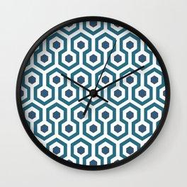 Retro Carpet Wall Clock