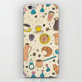 Spicy coffee iPhone Skin