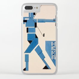 Theo van Doesburg - Archer Clear iPhone Case