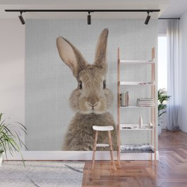 Rabbit - Colorful Wall Mural