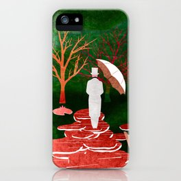 Melancholy 2 iPhone Case