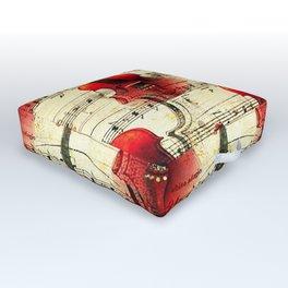 Violin Concerto Outdoor Floor Cushion