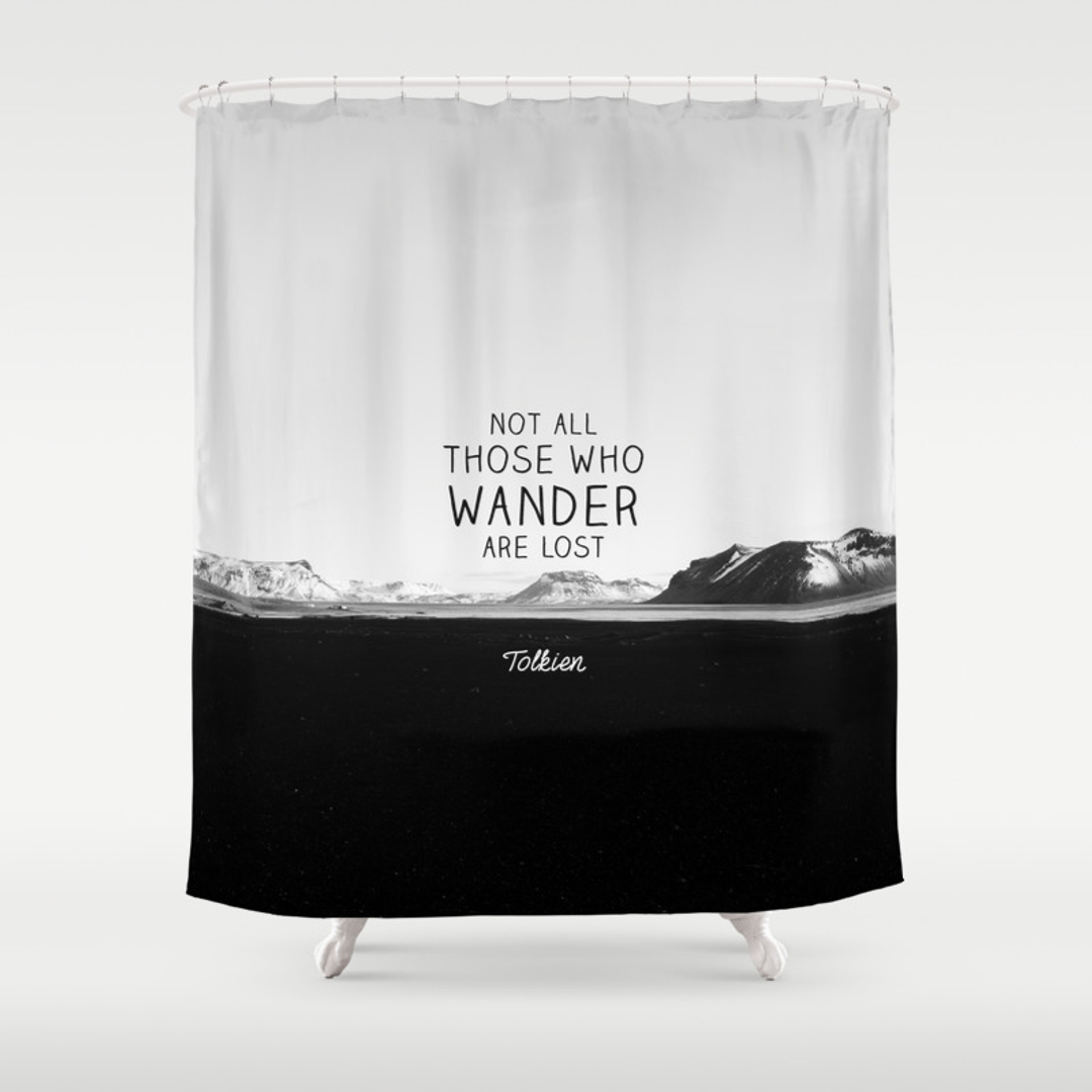 Amazing Black White, Digital, Graphic Design And Photography Shower Curtains |  Society6