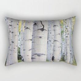 Colorado Aspen Grove Rectangular Pillow