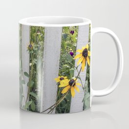 Fenced In Black Eyed Susans Coffee Mug