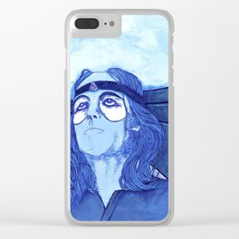 Peter Gabriel - Watcher Of The Skies Clear iPhone Case
