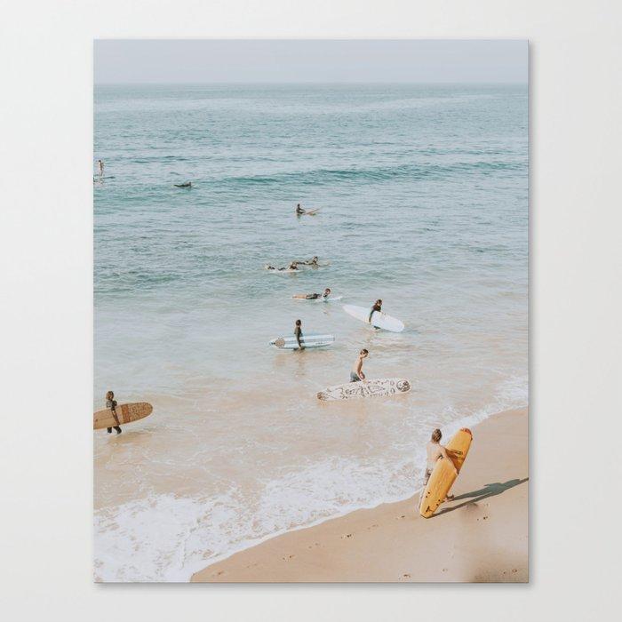 lets surf iii Leinwanddruck