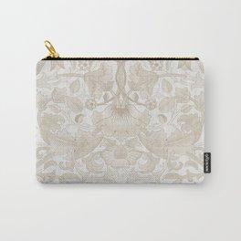 William Morris Vintage Lodden Antique Beige & Ivory Carry-All Pouch