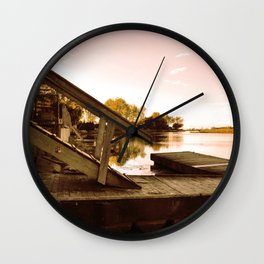 Cottage Sky Wall Clock