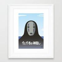 chihiro Framed Art Prints featuring Chihiro by Ryann'sWorld