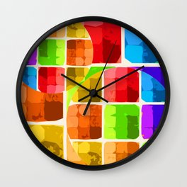 Denatured Wall Clock