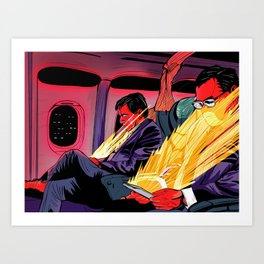 Golden Seat Art Print