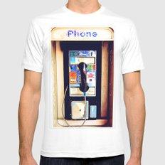 Payphone MEDIUM Mens Fitted Tee White