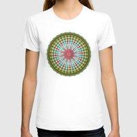 health T-shirts featuring Health Mandala - מנדלה בריאות by dotan yiloz