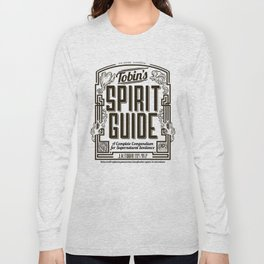 The Ghostbusters Greatest Resource: Tobin's Spirit Guide. Long Sleeve T-shirt