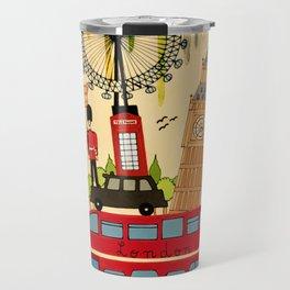 Rainbow Cities ~ London Travel Mug