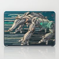 android iPad Cases featuring android anteater by Kingu Omega