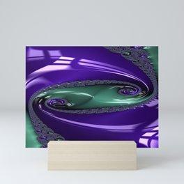 Enamored Selenium Fractal 12 Mini Art Print