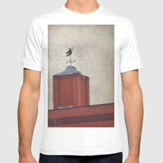 Witch MEDIUM Mens Fitted Tee White