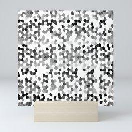 SCATTERED TILES Mini Art Print