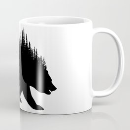 Fern and Bear Coffee Mug