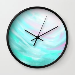 Through the Breeze Wall Clock