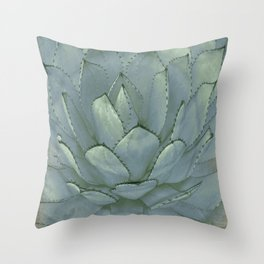 Agave Succulent Cactus Throw Pillow