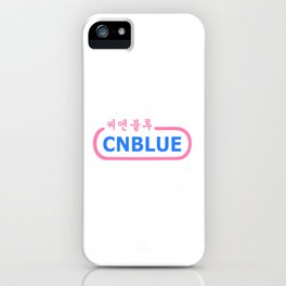 Awesome KPop Rock Band CNBLUE iPhone Case