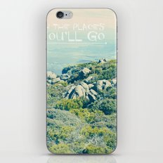 Oh The Places You'll Go iPhone & iPod Skin