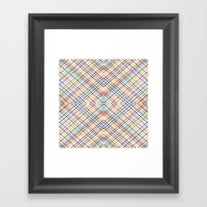Weave 45 Mirror Framed Art Print