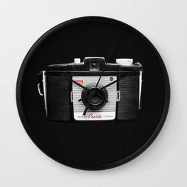 Through the Camera Lens 2 Wall Clock