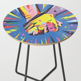 Band Together - Pride Side Table