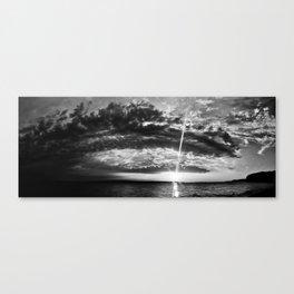 Oak Island Sunset Canvas Print