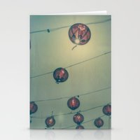 lanterns Stationery Cards featuring Lanterns by Leandro