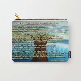 A POEM FOR GERALDINE SO FULL OF LOVE Carry-All Pouch