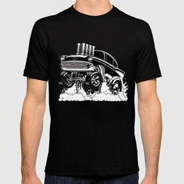 57 Gasser REV-3 BLACK T-shirt