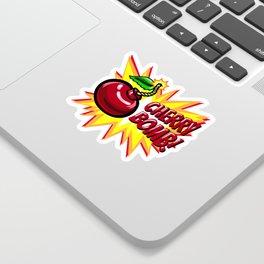 Cherry Bomb! Sticker
